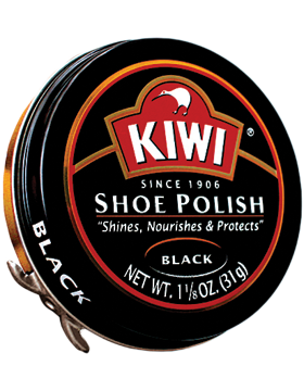 102-011 KIWI LARGE SIZE BLACK POLISH