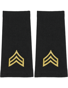 Shoulder Mark Large Sergeant (Pair)