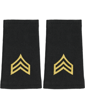 Shoulder Mark Small Sergeant (Pair)