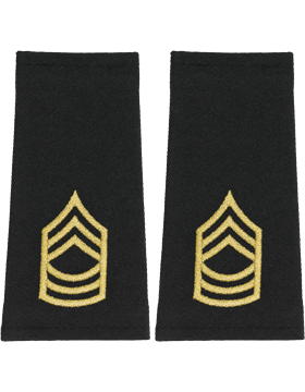 Shoulder Mark Large Master Sergeant (Pair)