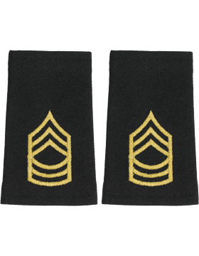 Shoulder Mark Small Master Sgt (Pair)