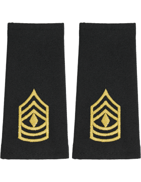 Shoulder Mark Large First Sergeant (Pair)