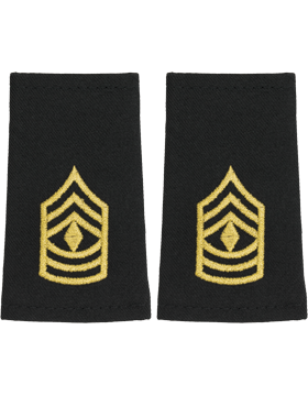 Shoulder Mark Small 1st Sergeant (Pair)