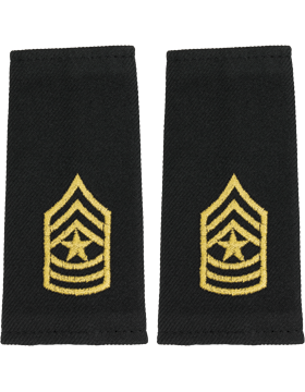 Shoulder Mark Large Sergeant Major (Pair)