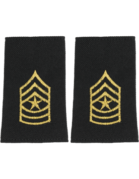 Shoulder Mark Small Sgt Major (Pair)