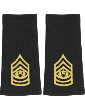 Shoulder Mark Large Cmd Sgt Major (Pair)
