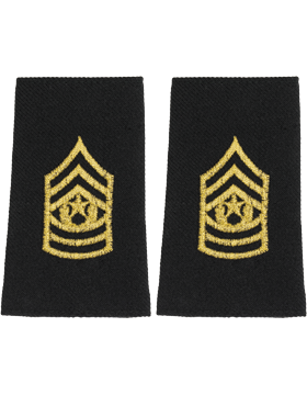 Shoulder Mark Small Cmd Sgt Major (Pair)