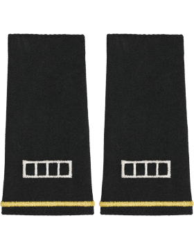 SM-118L, Shoulder Mark Large WO4 (Pair)