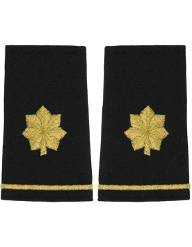 SM-123S, Shoulder Mark Small Major (Pair)