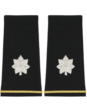 SM-124L, Shoulder Mark Large Lt Colonel (Pair)