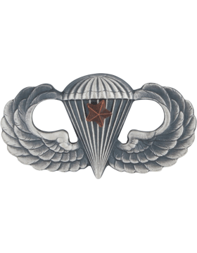 Parachutist with 1 Combat Star Silver Ox SO-307-1