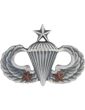 Senior Parachutist with 2 Combat Star