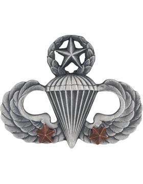 Master Parachutist with 2 Combat Star