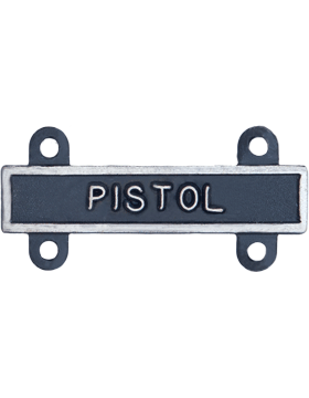 Pistol Qualification Bar