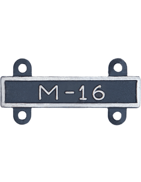 M-16 Qualification Bar