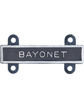 Bayonet Qualification Bar