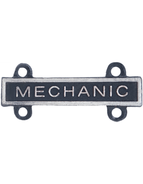 Mechanic Qualification Bar