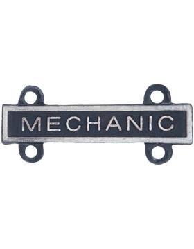Mechanic Qualification Bar