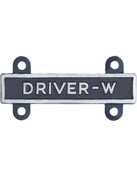 Driver-W Qualification Bar