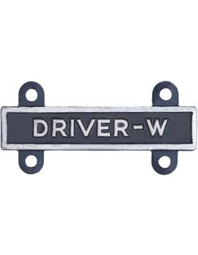 Driver-W Qualification Bar