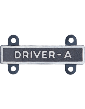 Driver-A Qualification Bar