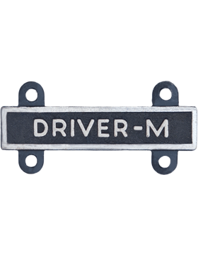 Driver-M Qualification Bar