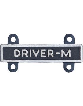 Driver-M Qualification Bar