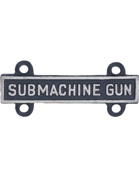 Submachine Gun Qualification Bar