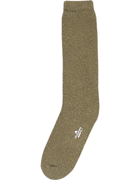 Cold Weather Fully Cushioned Olive Drab Boot Sock 6168