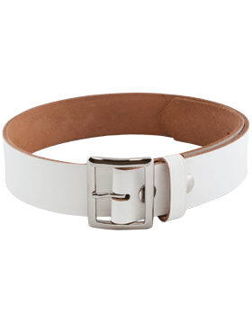 Sabre Belt, 1 3/4in White Garrison Belt