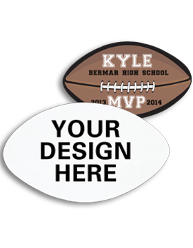 A008 Custom Sublimation Felt Football Emblem