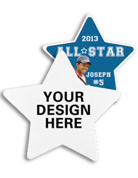 A012 Custom Sublimation Star Felt Emblem