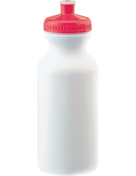 Custom 20 oz. White Sport Bottle