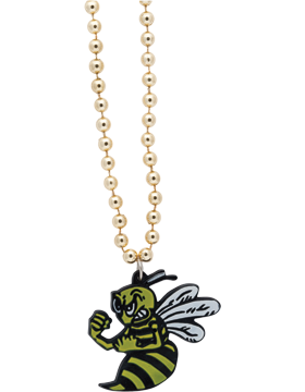 SS-BEAD-MAS-BEE Mascot Beaded Necklace Bee