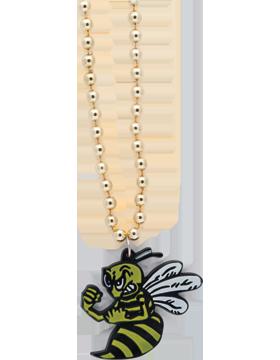 SS-BEAD-MAS-BEE Mascot Beaded Necklace Bee