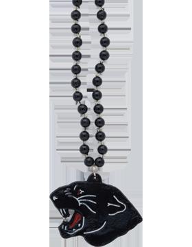 SS-BEAD-MAS-PAN Mascot Beaded Necklace Panther