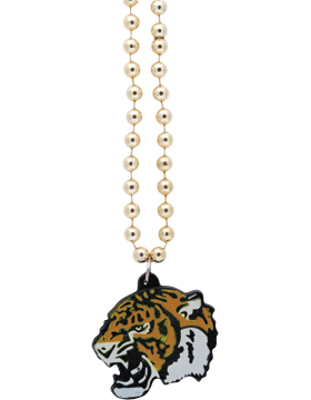 SS-BEAD-MAS-TIG Mascot Beaded Necklace Tiger