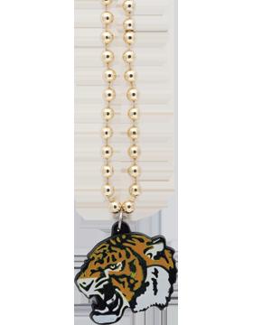 SS-BEAD-MAS-TIG Mascot Beaded Necklace Tiger