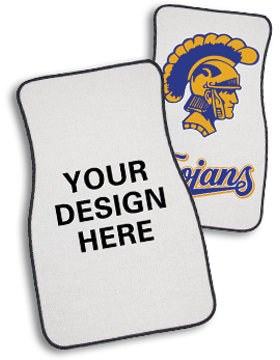 Set of 2 Custom Auto Mats, Front