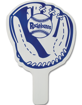 Custom Hand Fan CHF451 Baseball Mitt