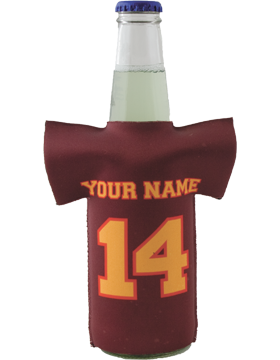 Custom Slip-On Bottle Jersey Insulator - 12oz Bottles small