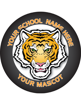 Customizable Stock Design for Locker Sticker Mascot 5.5in