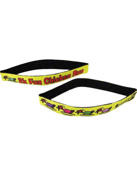 Custom Sublimation Wrist Band, Neoprene Youth White (24-47)