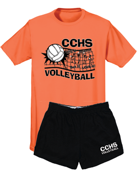 Custom Volleyball Spirit Pack