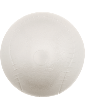 Custom Sports Ball 3 inch Plastic Baseball