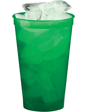 SS-SC22T Custom 22 oz. Translucent Stadium Cup
