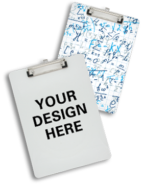 Custom Sublimation Clipboard Double Sided with Flat Clip