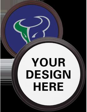 Custom Sublimation Mahogany Coaster (Specify Design)