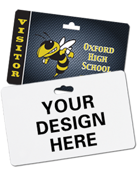 Custom Sublimation Slotted ID Badge 3
