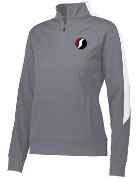 Southside The PRIDE Graphite and White Ladies Medalist 2.0 Pullover 4388